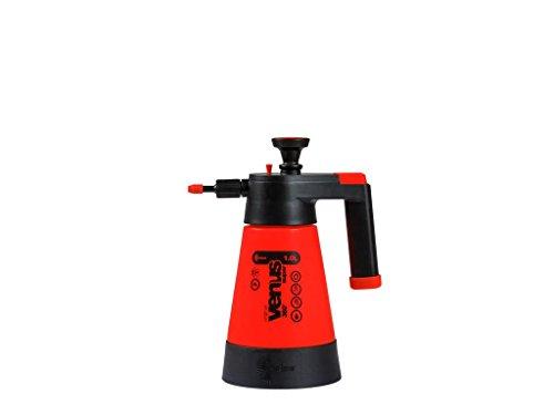 Kwazar 20010002 Sprühflasche Venus Super 360 Grad Drucksprüher für Garten, Orange, 1 L