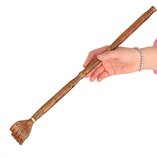 Wanlianer Zurück Scraping Holzgriff - Massivholz zurück Schaben Massagegerät männlich/weiblich juckende Erleichterung - Zurück Massivholz
