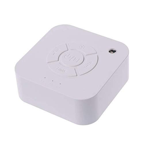 WYBD.Y Wiederaufladbare White Noise Machine von hoher Qualität mit 9 Sich Nicht wiederholenden beruhigenden Geräuschen und Timer-Einstellungen für die Speicherfunktion zum Schlafen