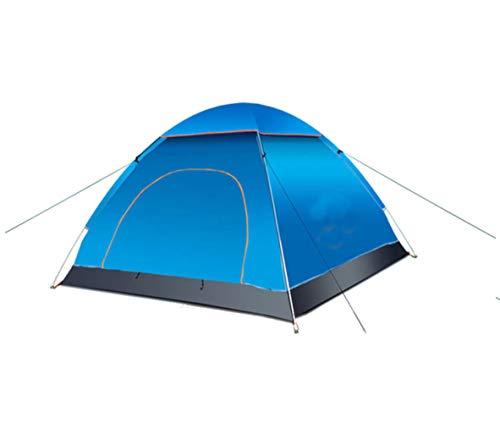 YOOFINE Instant Pop Up Camping Zelt Wurfzelt 3-4 Personen Wasserdichtes Pop up Zelt Ultraleicht mit Tragetasche für Camping Wandern Reisen Strand