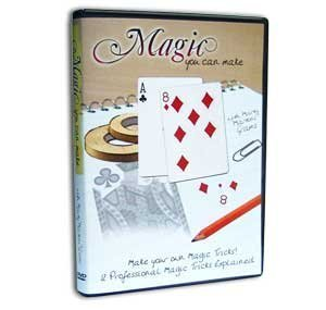 Magic You Can Make with Marty Martini' Grams, DVD - 12 Professional Magic Tricks Explained by Magic Makers Martini-maker