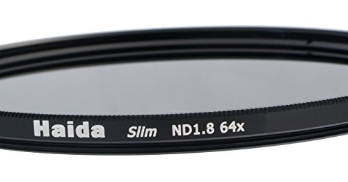 Slim Graufilter ND64-55mm + Pro Lens Cap mit Innengriff 55 Mm Lens Cap