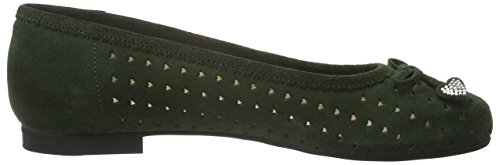 Diavolezza Ladies Jenny Ballerinas Green (gren)