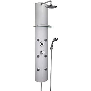 colonne de douche hydromassante valentin totem robinet thermostatique bricolage