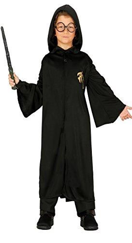 Guirca-81783 Costume Mago Harry Potter Bambino 10/12 Anni, Nero, Talla 10-12 años, 81783.0