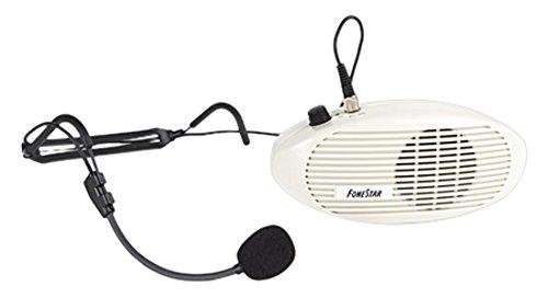 FONESTAR FAP-5 - AMPLIFICADOR COMPACTO DE CINTURA (5 W + 3 W  100-15000 HZ)