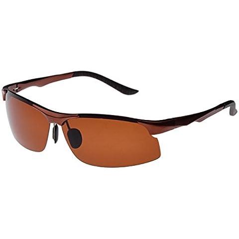 ZHEN Aviazione militare uomo occhiali da sole