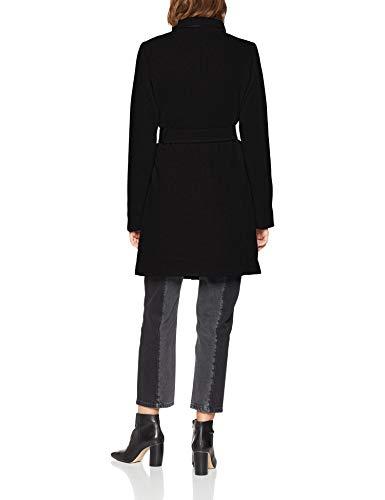 VERO MODA Damen Mantel VMBESSY Class 3/4 Wool Jacket NOOS, Schwarz Black, 36 (Herstellergröße: S) - 2