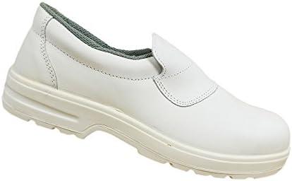 Ergos - Calzado de protección de Piel para hombre Blanco blanco