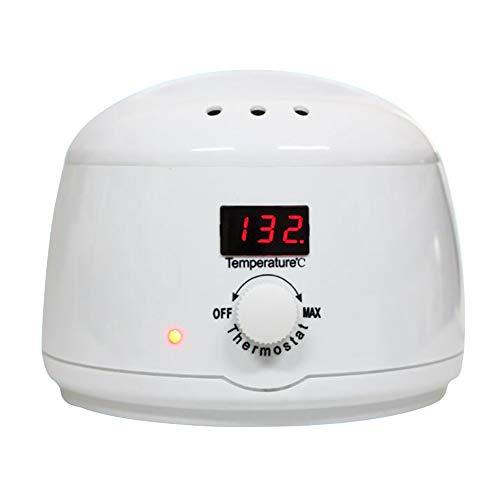 Denshine Pro Wax Heater Mini SPA Main Épilateur Pieds Cire de Paraffine Rechargeable Machine Dépilatoire Corps LED Épilation