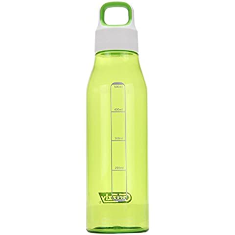 BEIL äufige modo 550 ml Grizzly Serie Diamant Fashioned Bottle – Round Tazza Mobile, verde