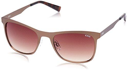 IDEE Gradient Square Men's Sunglasses - (IDS2079C3SG|53|Brown Gradient lens) image