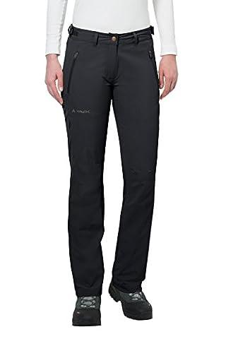 Vaude Farley Stretch II Pantalon Femme, Noir, 40/M