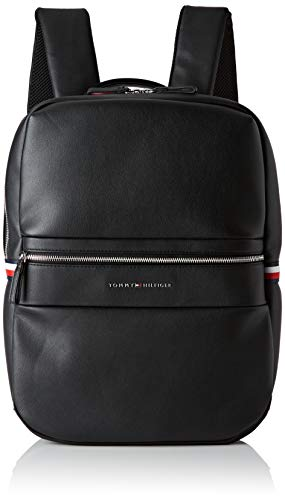 Tommy hilfiger novelty mix backpack - zaini uomo, nero (black)