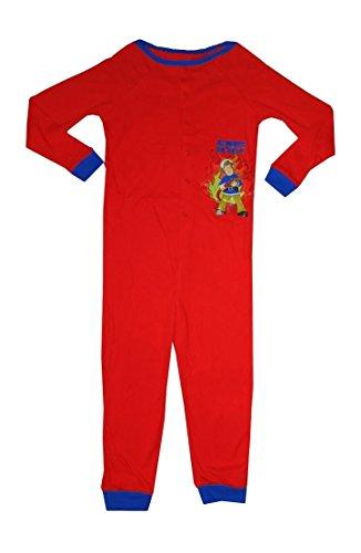 umwolle onzies Schlafanzug, Rot-2 ans ()