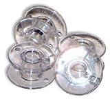 Bobbines Style SA156 Lot de 10 bobines pour machine à coudre Brother