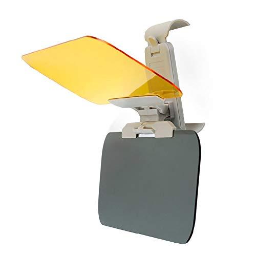 Lanbowo Auto-Blendschutz für Tag und Nacht, Dual-Verwendung, Sonnenblende, blendfreie Linsen, Tag und Nacht