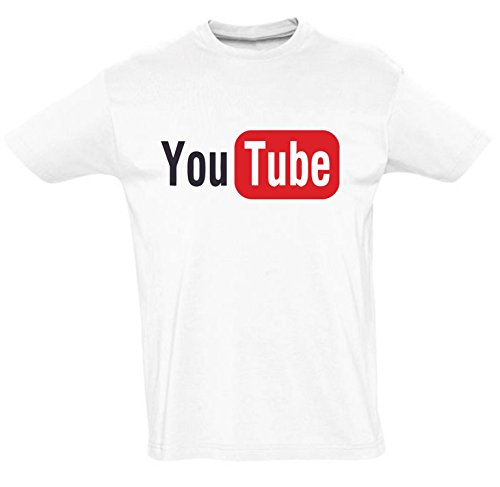 youtube-unisexe-funny-slogan-t-shirt-m
