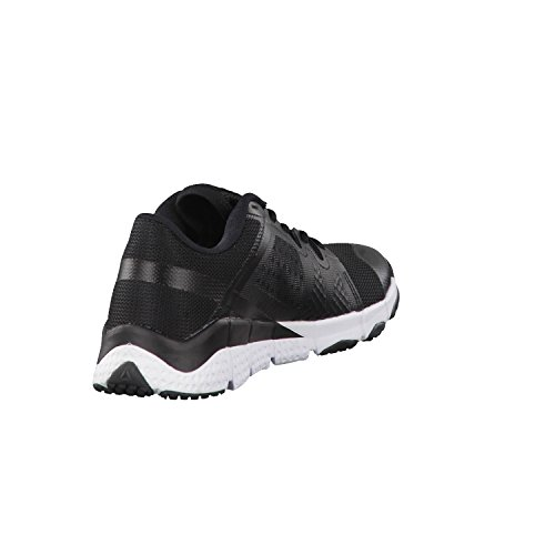 Reebok Trainflex, Sneaker Basses Femme Noir (Nero Blk/wht/met Silver/grey)