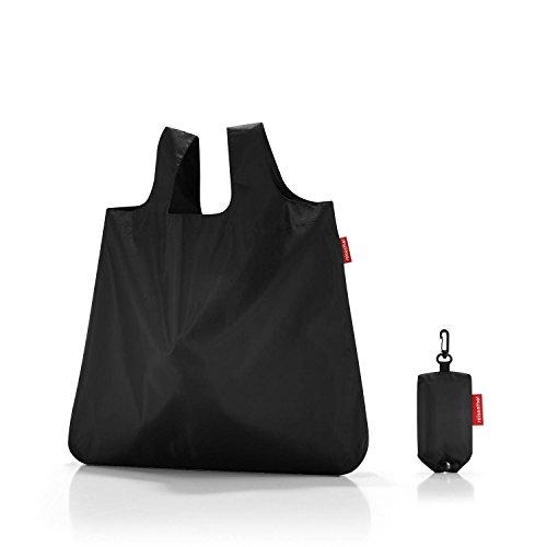 reisenthel Mini Maxi Shopper, Borsa della Spesa, per Shopping, Old Style, Aruba Blue, AO4040 Beige