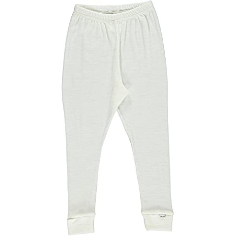 Celavi Long Johns -Basic Solid Wool - Pantalones Bebé-Niños
