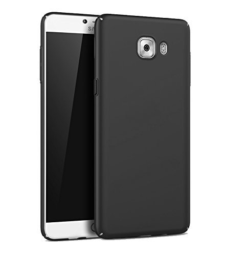 Johra 4 Cut All Sides Protection Sleek Ipaky Black Hard Case Back Cover For Samsung Galaxy On Max - Samsung On Max Back Cover