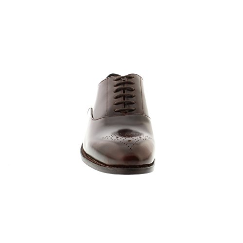 Clarks Ellis Vincent, Derby Homme Marron (Chestnut Leather)