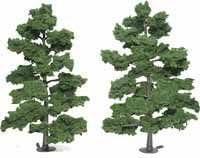 Medium Green Ready Made Trees 8 - 9 Woodland Scenics by Woodland Scenics | L'exportation