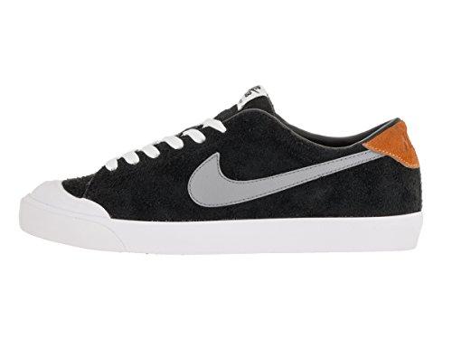 Nike Zoom All Court Ck, Chaussures de Sport Homme, Taglia Unica Noir - Negro (Negro (Black/Cool Grey-Vvd Orng-White))