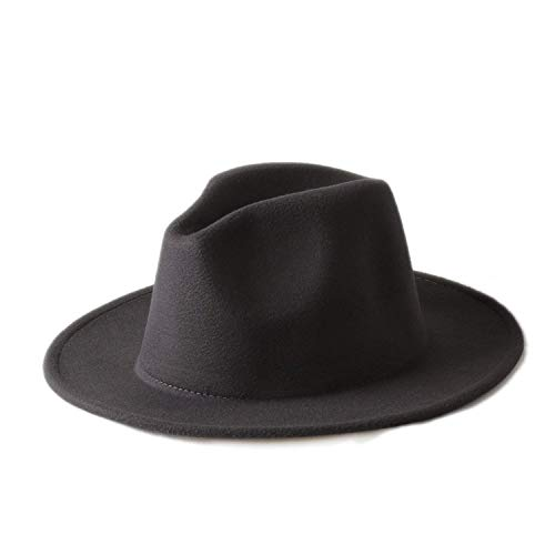 Sehr weich und angenehm zu tragen Männer Frauen 100% Wolle VTG Wide Brim Filz Trilby Hut BNWT/New Gangster Fedora Hut Kirche Hut 10 Farbe