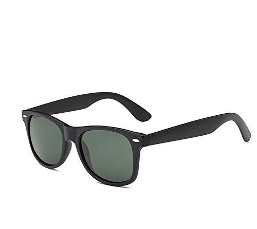 GZD Le nouveau lunettes de soleil polarisées Fashion Colorful Green