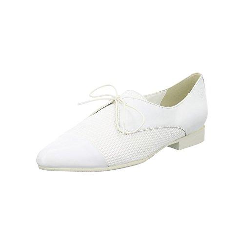 GERRY WEBER  G5300342/000, Chaussures de ville à lacets pour femme Blanc