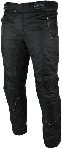 *Heyberry Motorradhose Textil Schwarz Gr. L*