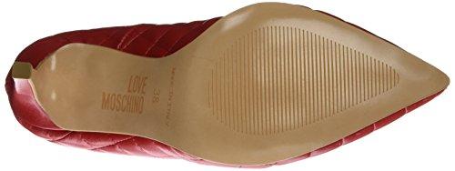 Love Moschino Ja1002, Chaussures À Talons Rouges Pour Femmes (rouge 500)