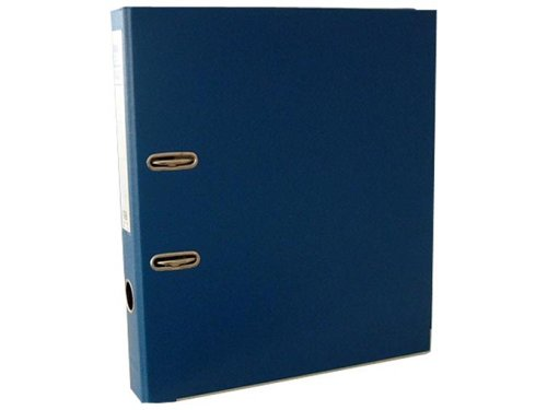 Preisvergleich Produktbild ELBA 100022619 Kunststoff-Ordner rado plast 5 cm schmal DIN A4 mit PVC-Folie überzogen blau Ringordner Aktenordner Briefordner Büroordner Plastikordner Schlitzordner