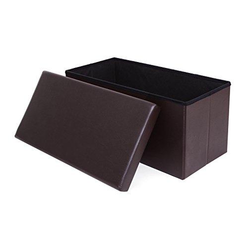 songmics-folding-storage-ottoman-high-end-flame-retardant-material-bench-toy-box-stool-brown-76-x-38