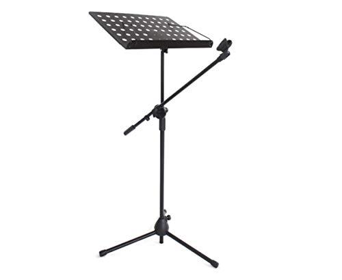 Audio Straßengesang Mikrofon Musik Score Stand Tragbare Erhöhen Weizenständer Notenständer Gitarre Gesang Mikrofon Stativ 74 * 36 * 49 cm