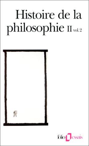 Histoire de la philosophie, tome 2, volume 2