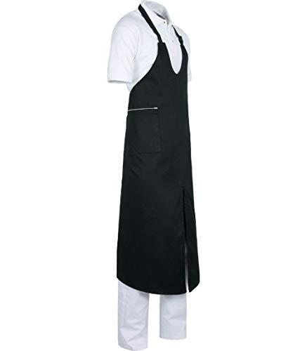 WORKTEAM Delantal Cocina. Delantal Largo Regulable