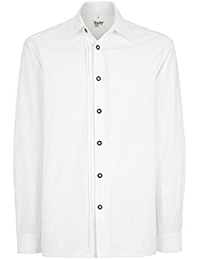 Distler Trachten-Hemd Langarm mit Biesen