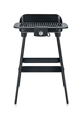 SEVERIN PG 8550 Barbecue-Grill, Standgrill (2.300 Watt, Grillfläche (37x23cm)) schwarz