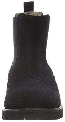 CliC Stiefelette, Bottes mi-hauteur avec doublure chaude fille Bleu - Blau (Afelpado Azulmarino)