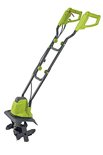 Garden Gear Electric Garden Tiller, Adjustable Cultivator & Rotavator to Break Up Soil for Lawn, Vegetable Patch & Allotment, 1050W