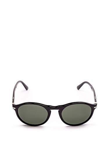 Persol Herren Po3204s9531 Schwarz Acetat Sonnenbrille