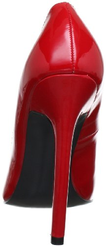 Pleaser - Sexy-20 Sexy20/R, Scarpe col tacco Donna Rosso (Rot (Red pat))