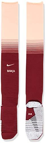 Nike Erwachsene FC Barcelona Match 3rd Fußballstutzen, Deep Maroon/Light Atomic Pink, 10-11.5/EU 44-45.5