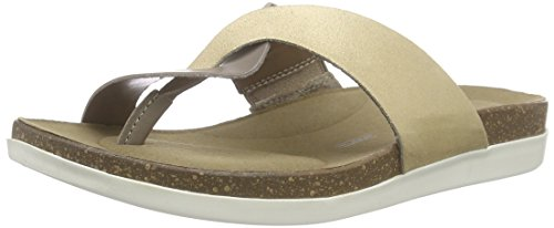 Rockport Total Motion Romilly Curvy Thong, Salomés femme Gris - Grau (MISTY GREY)
