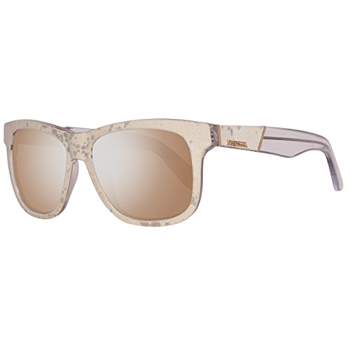 Diesel Unisex-Erwachsene DL0140 5427L Sonnenbrille, Beige, 54