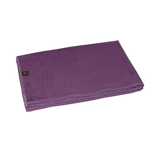 KUKUJIE Coperta Ausiliaria per Yoga Sezione Sottile Coperta per Yoga Coperta Calda Coperta per Meditazione Coperta per 150Cmx200Cm_Purple