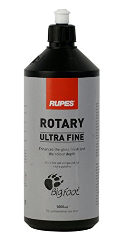 RUPES BIGFOOT Ultra Fine Auto Politur Weiß - 1000 ml für Rotations Maschine (Ultra Fine Politur)
